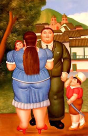 Fernando Botero Angulo oil painting reproduction
